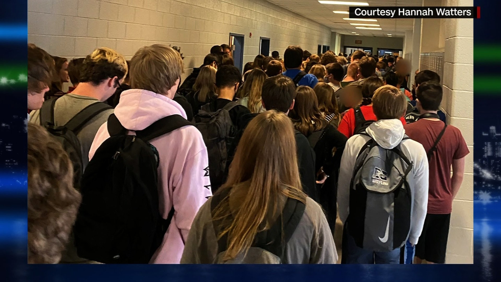 Georgia student who posted photo of a crowded school hallway and called it 'good and necessary trouble' is no longer suspended, her mom says