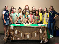 Girl Scout troop creates therapeutic book for victims of child abuse