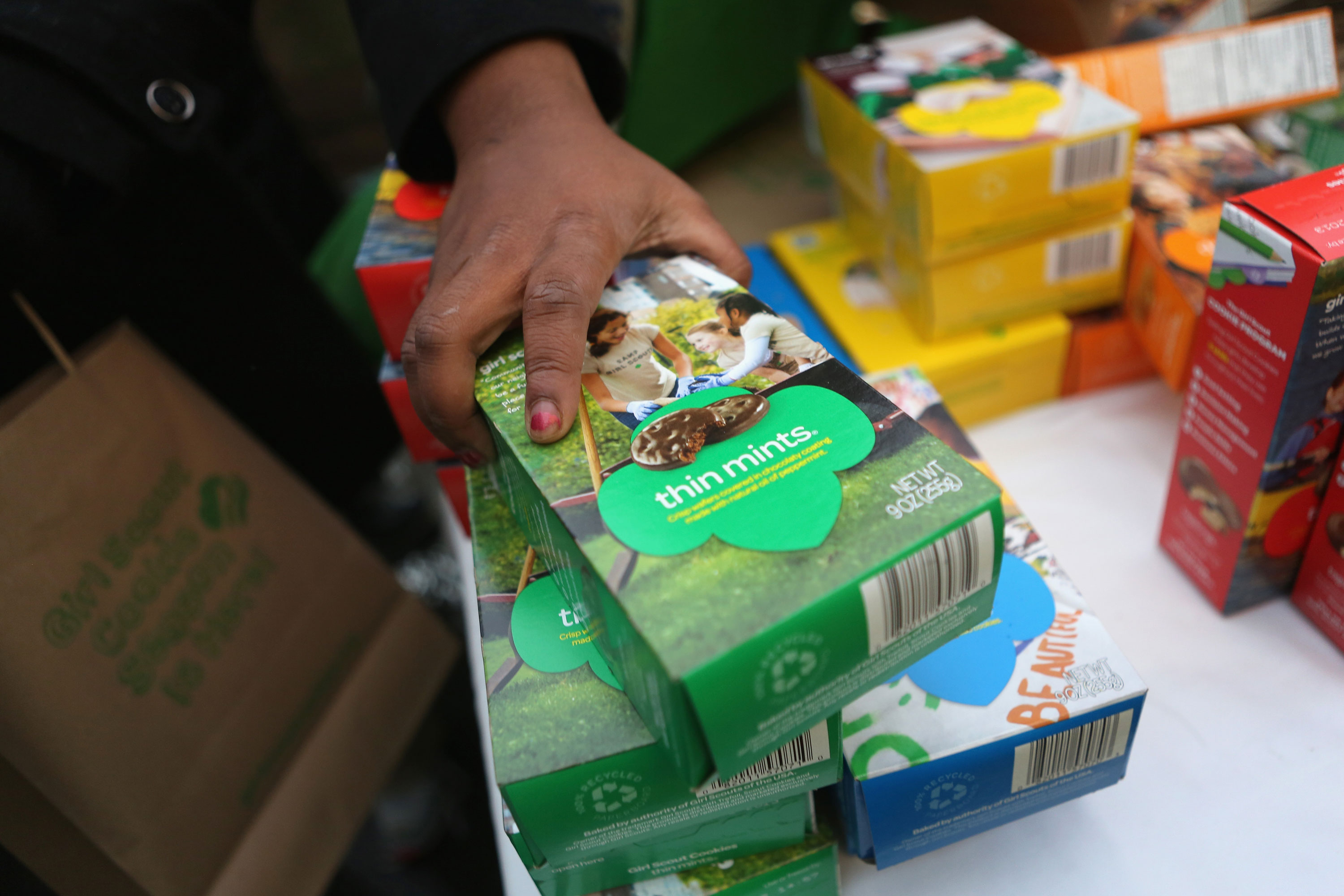 Stuck at home craving Girl Scout cookies? Now you can order them online