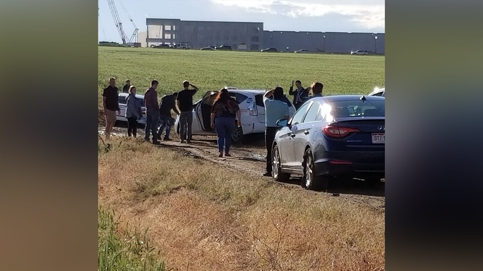 Nearly 100 drivers followed a Google Maps detour — and ended up stuck in an empty field