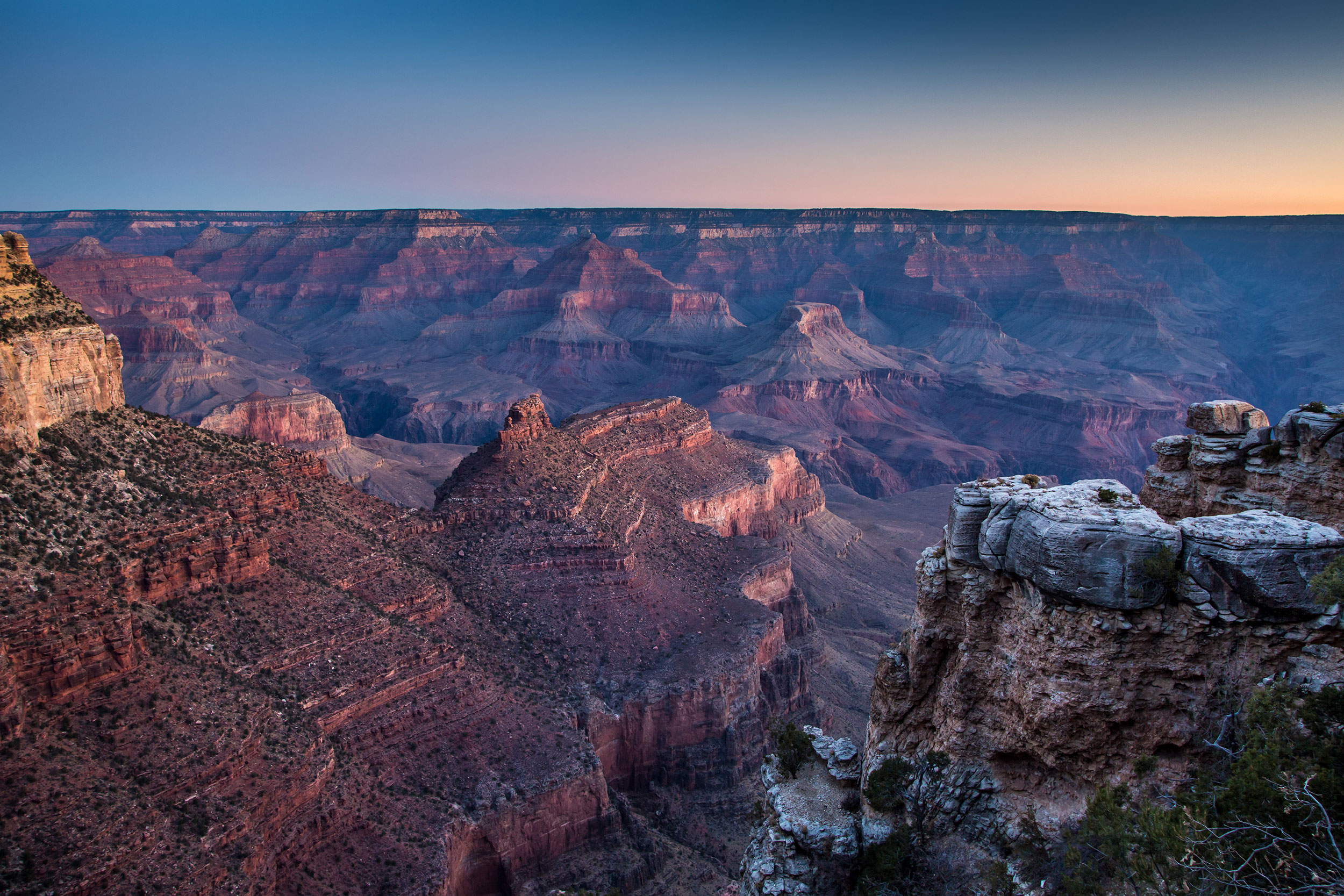 A hiker died after a fall at the Grand Canyon