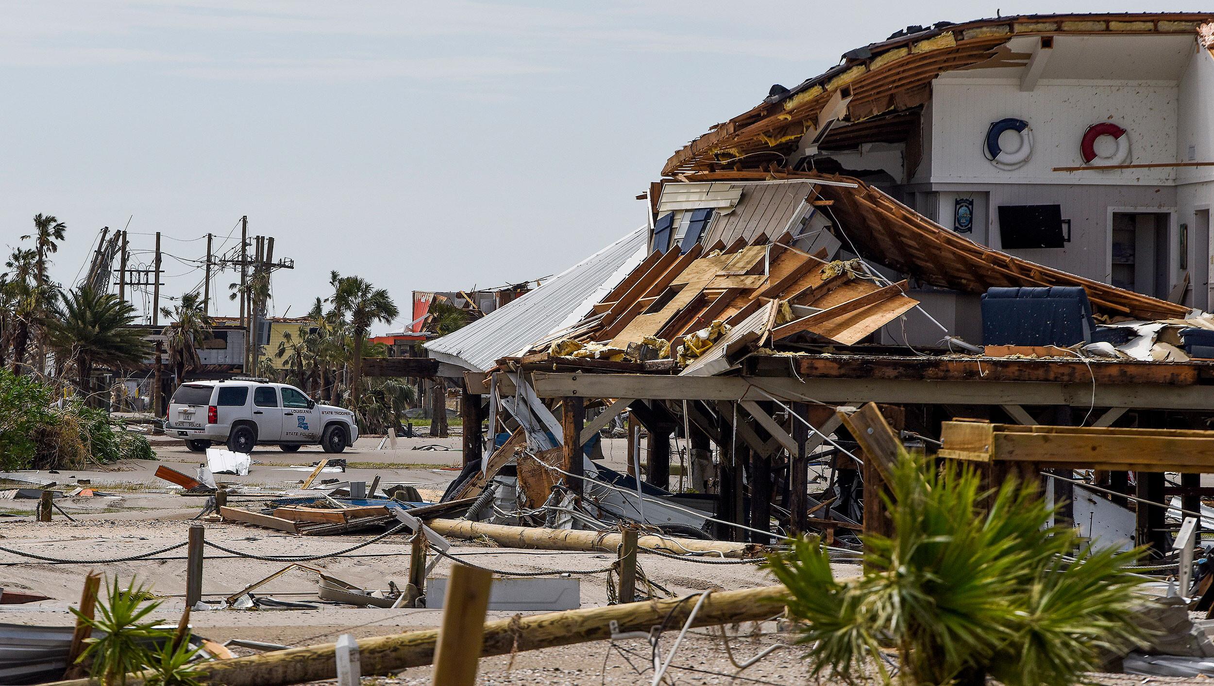 Louisiana's last inhabited barrier island bore the brunt of Hurricane Ida. Here's what it looks like now