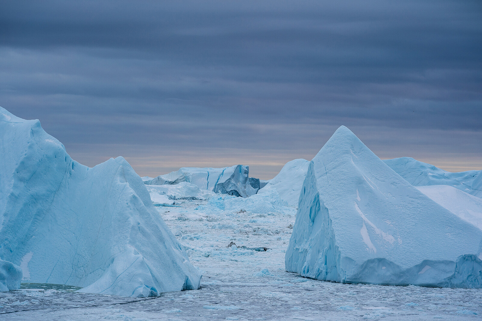 The amount of Greenland ice that melted on Tuesday could cover Florida in 2 inches of water