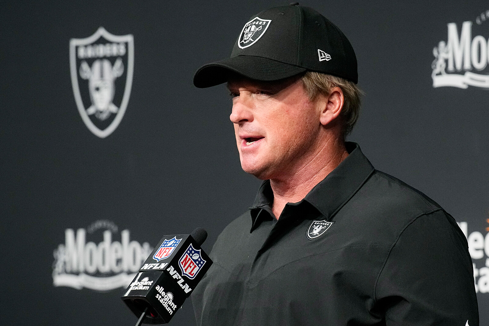 Jon Gruden has resigned as head coach of the Las Vegas Raiders after reports of homophobic, racist and misogynistic emails