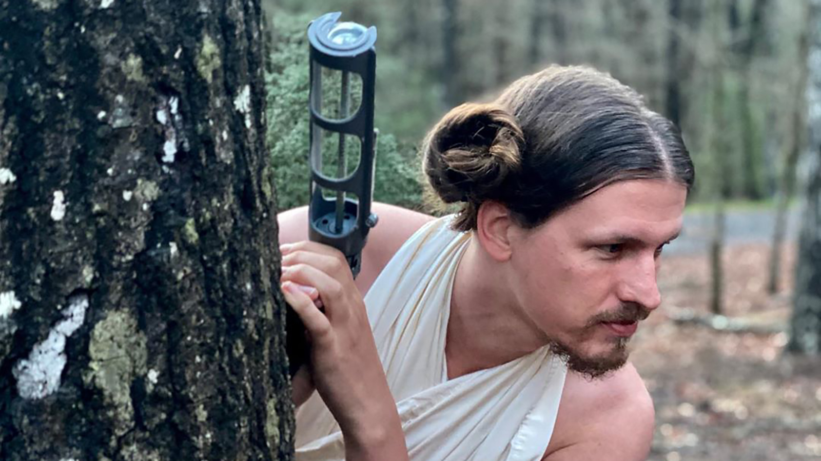 A hairstylist is using her spare time to turn her boyfriend into Princess Leia and Joe Exotic