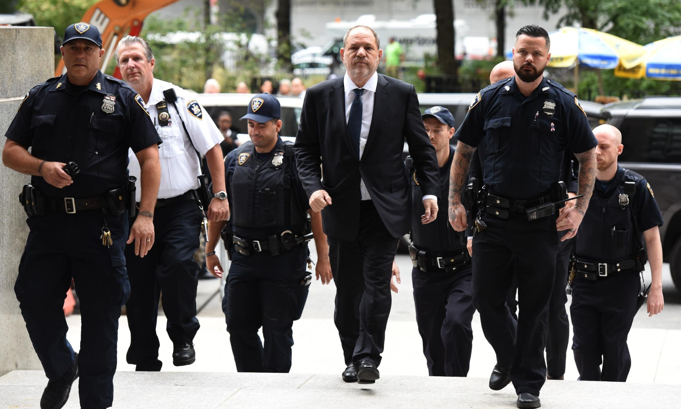 Harvey Weinstein's lawyer wants his trial moved out of New York City and its 'circus-like atmosphere'