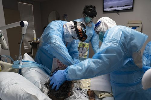 Image for The pandemic has become a humanitarian disaster in the United States