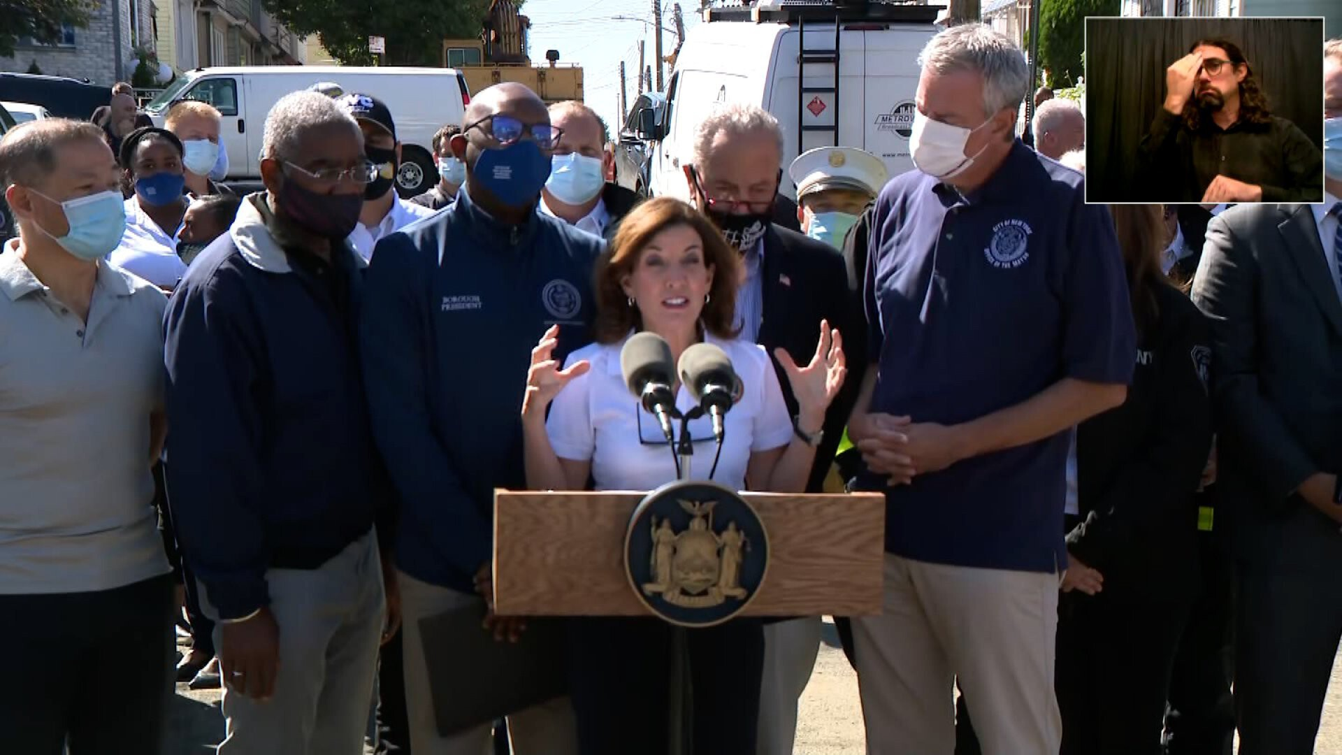 New York Gov. Hochul faces first crisis after Ida floods parts of the state