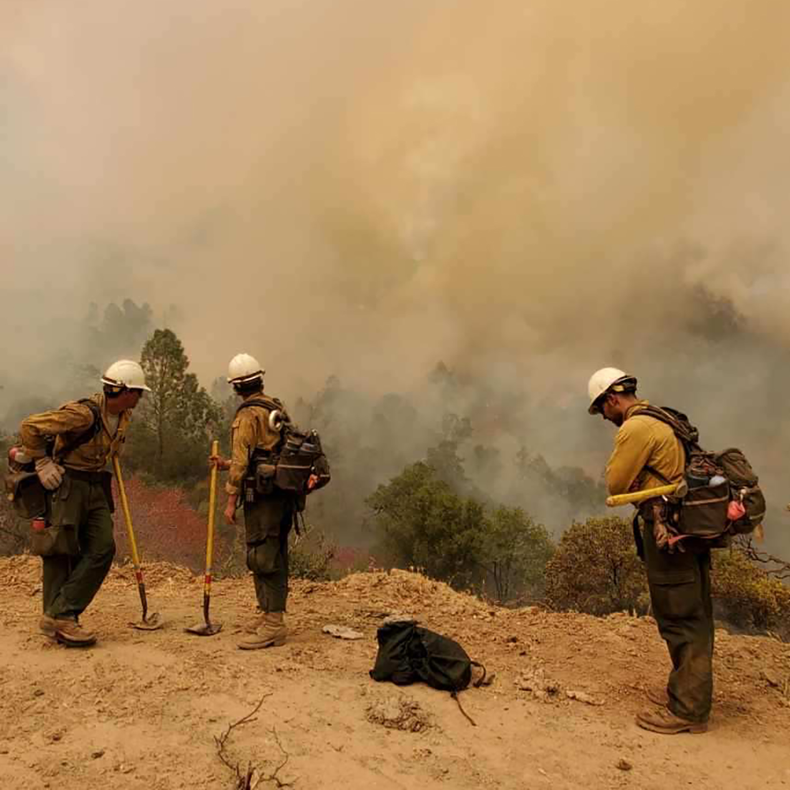 These are the Hotshots, firefighters on the frontlines of deadly California blazes