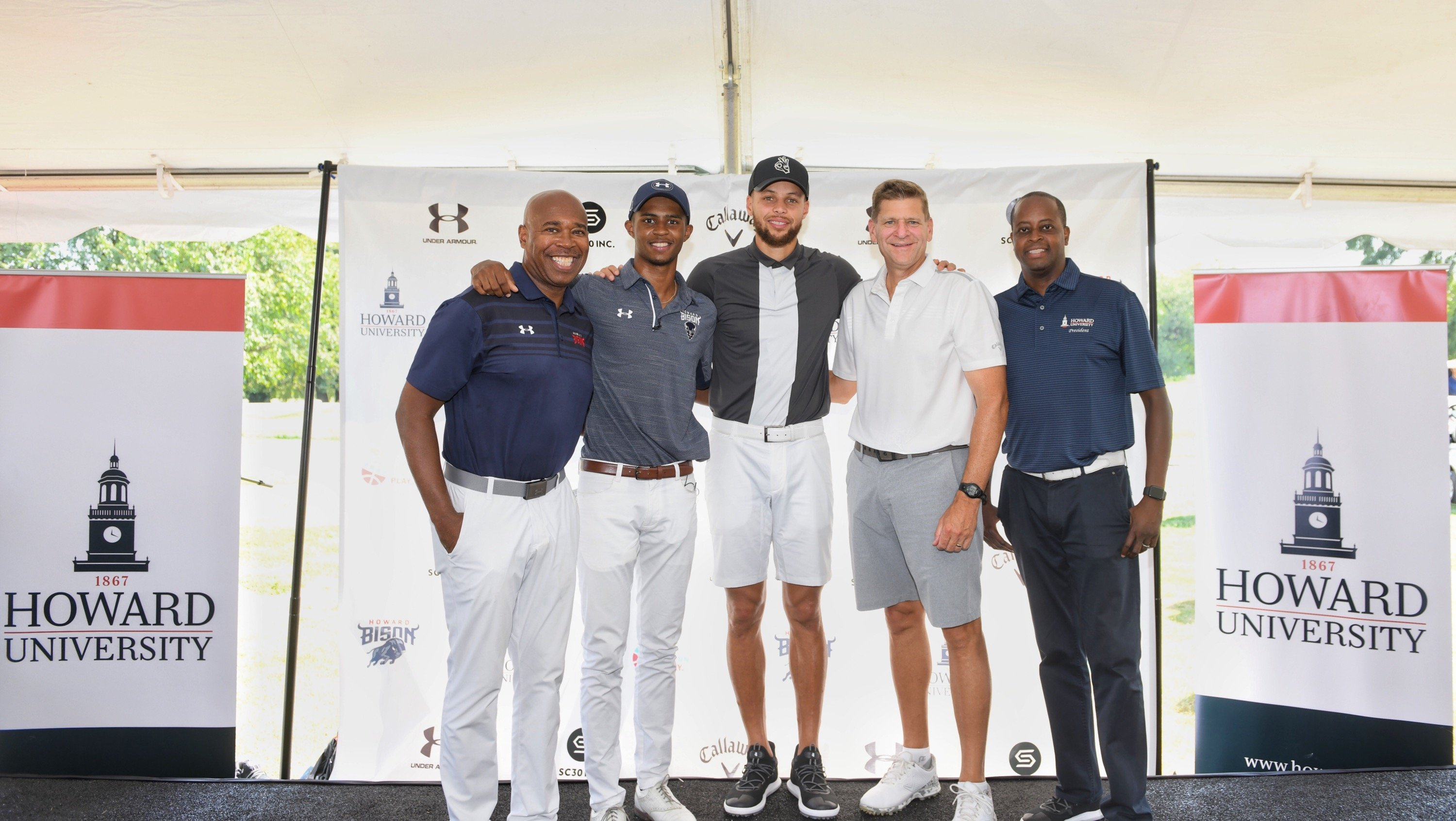 Steph Curry is helping launch Howard University's first Division I golf program