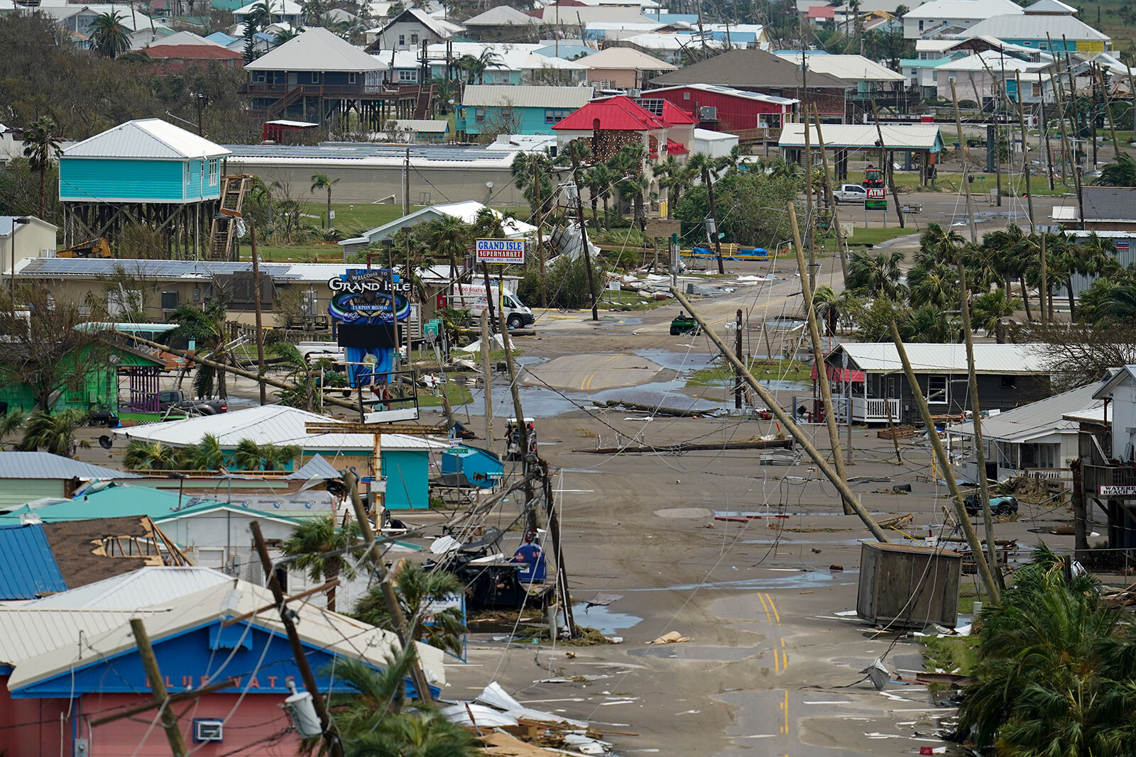 Louisiana areas hardest-hit by Hurricane Ida need a fundamental change in how they're protected, official says
