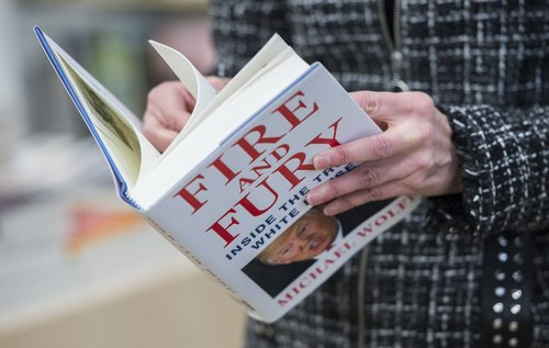 Image for Books criticizing President Trump keep going missing at an Idaho library