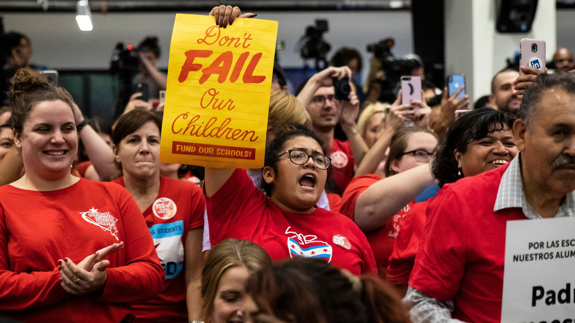 Chicago teachers are about to go on strike, leaving 360,000 kids in limbo