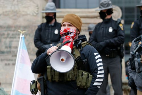Image for Officials remain vigilant ahead of Biden inauguration after small weekend protests