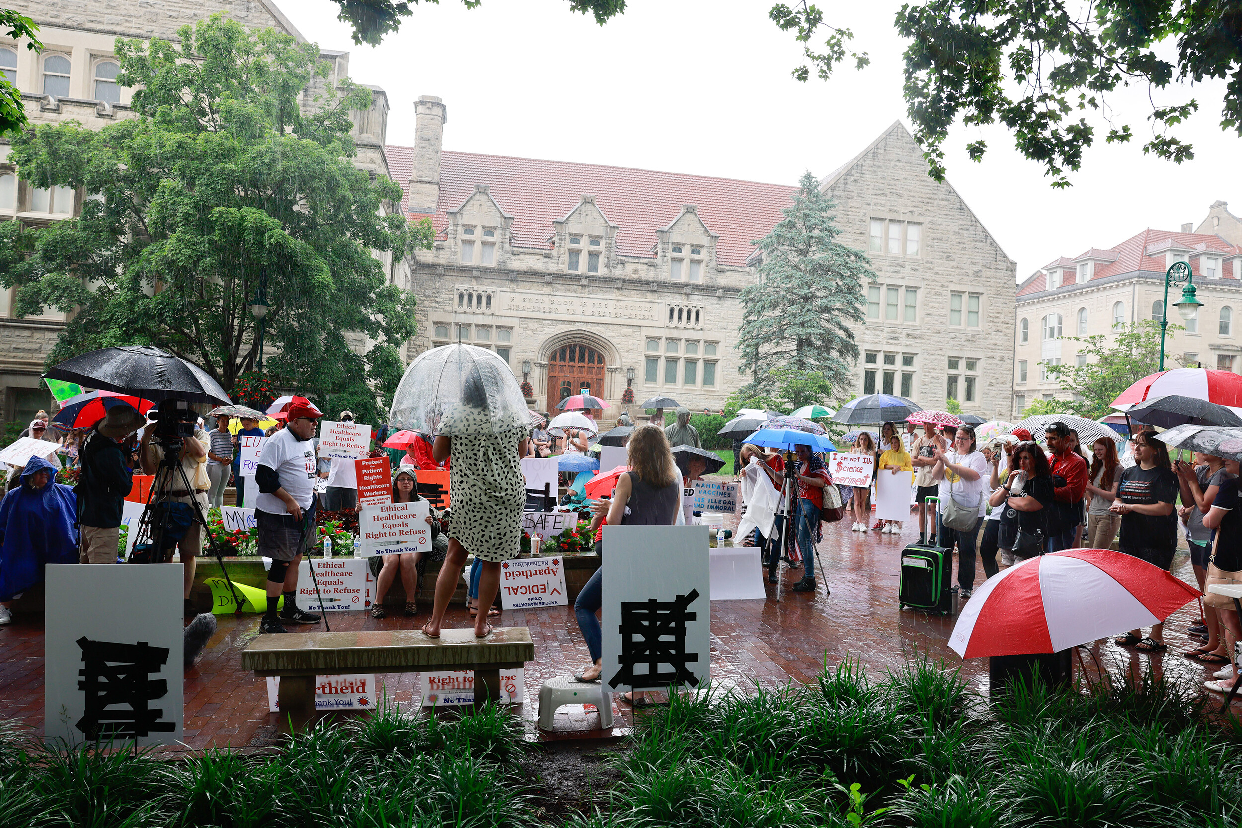 Federal judge upholds Indiana University's Covid-19 vaccination requirements