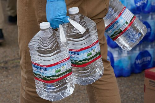Image for Weeks after a winter storm, residents of Jackson, Mississippi, may soon be able to stop boiling water before using it