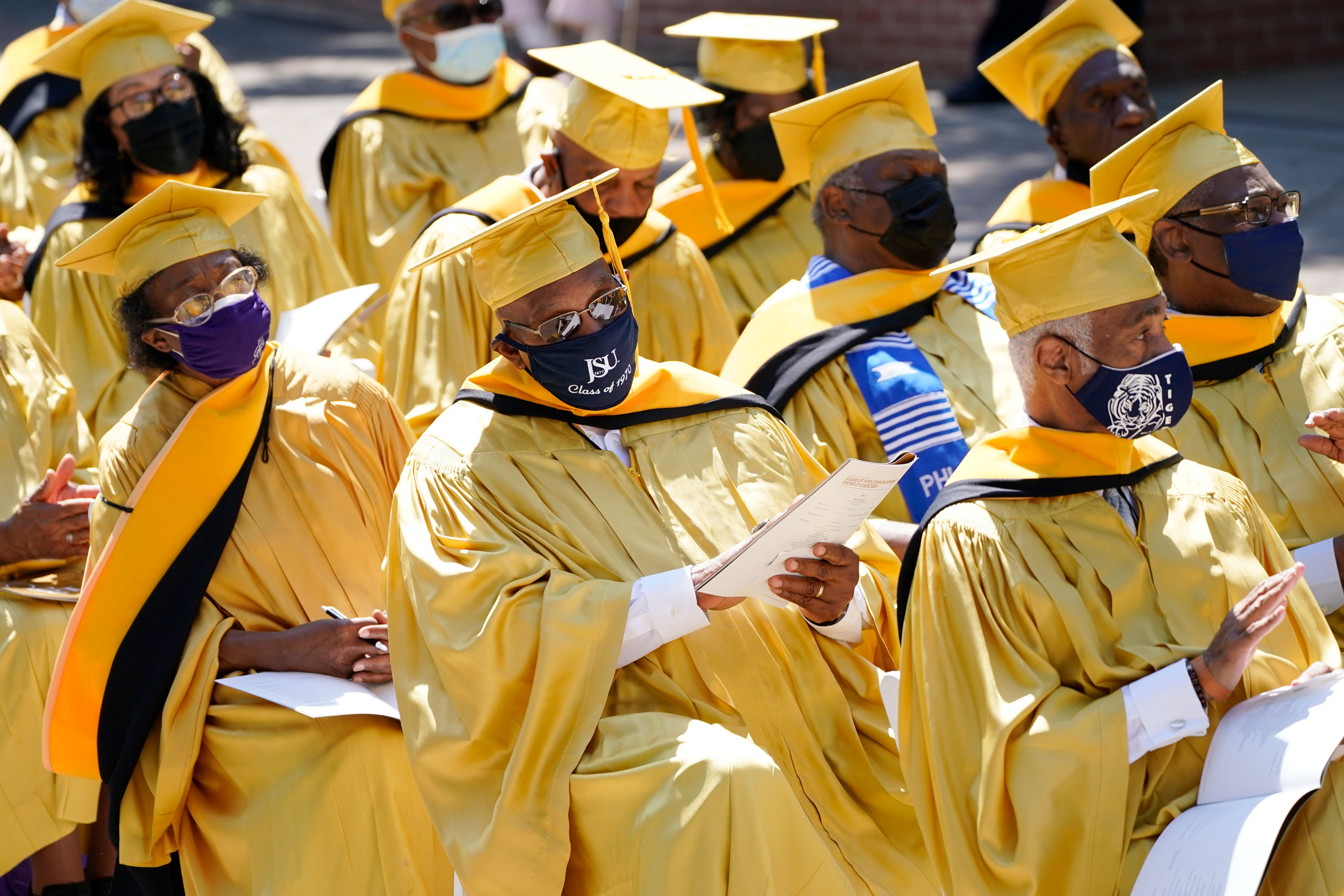 A police shooting delayed this Black college's graduation in 1970. Now, those students finally got their ceremony — and an apology