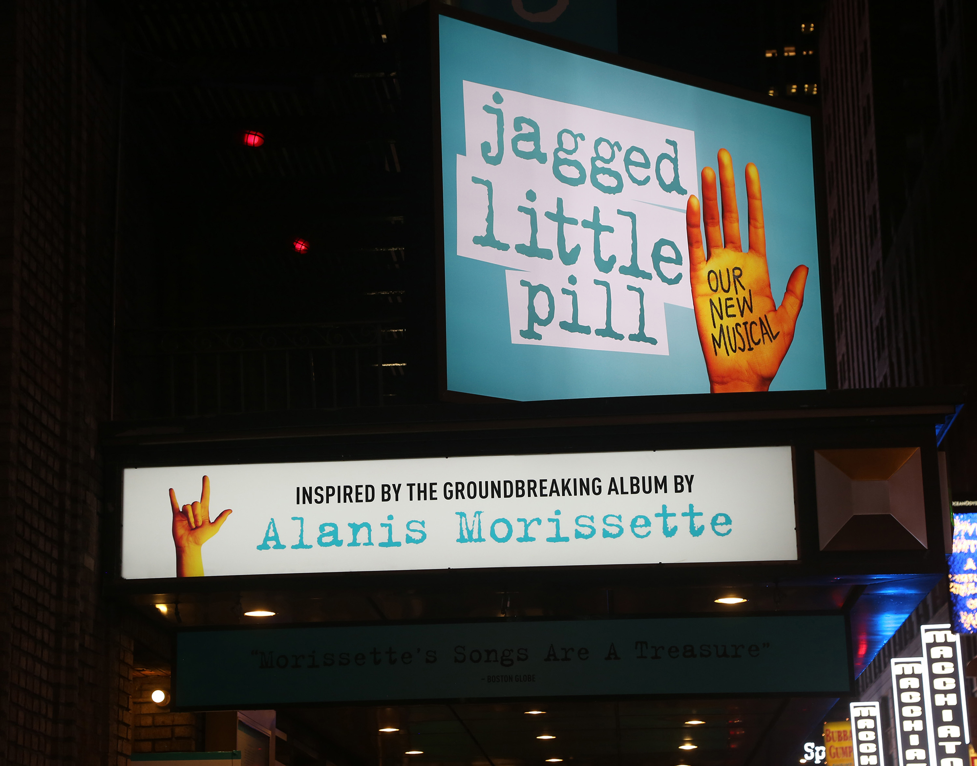 Patrons were evacuated from 'Jagged Little Pill' on Broadway after a likely pepper spray incident, police say
