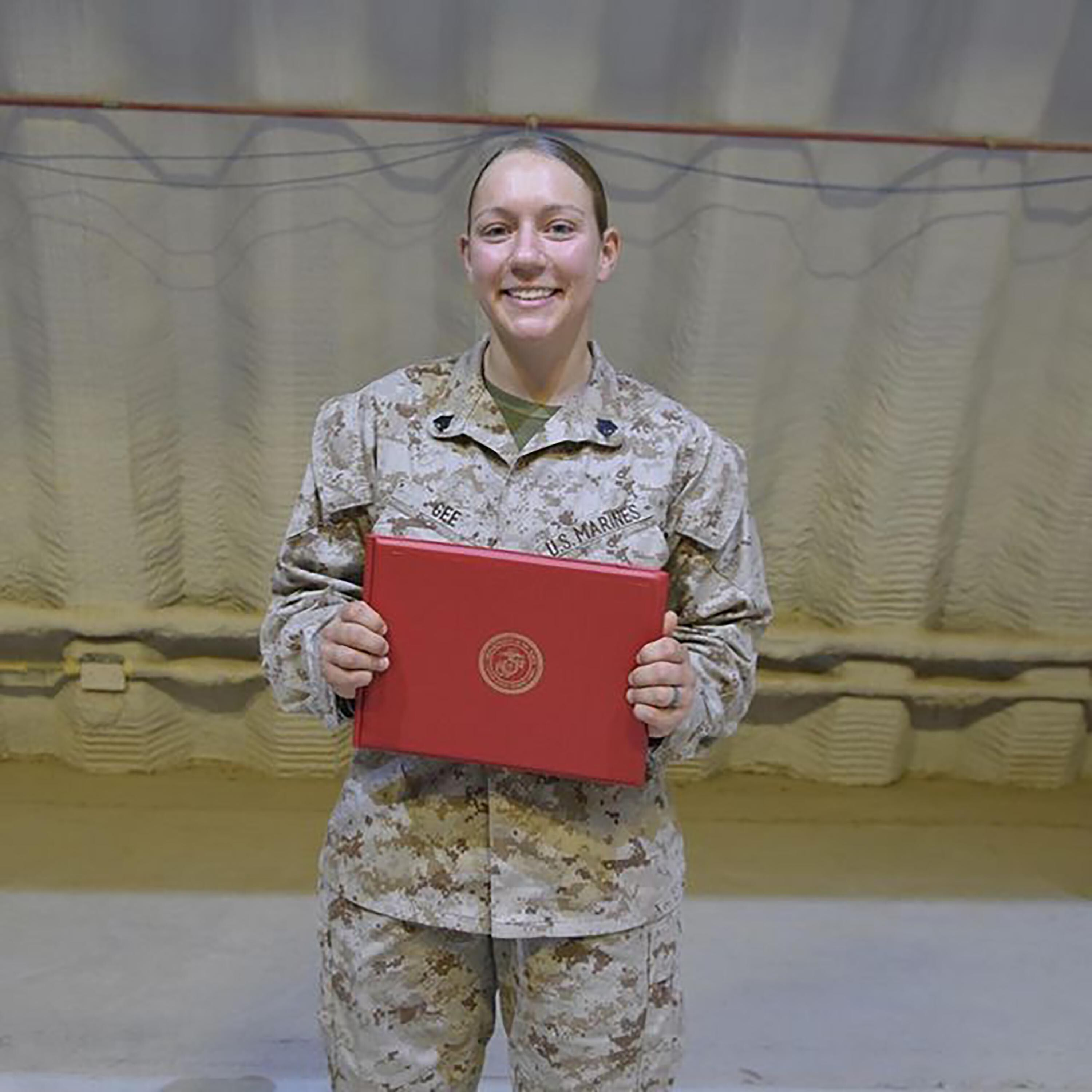 Nicole Gee, Marine killed in Kabul attack, described as a 'light in this dark world'