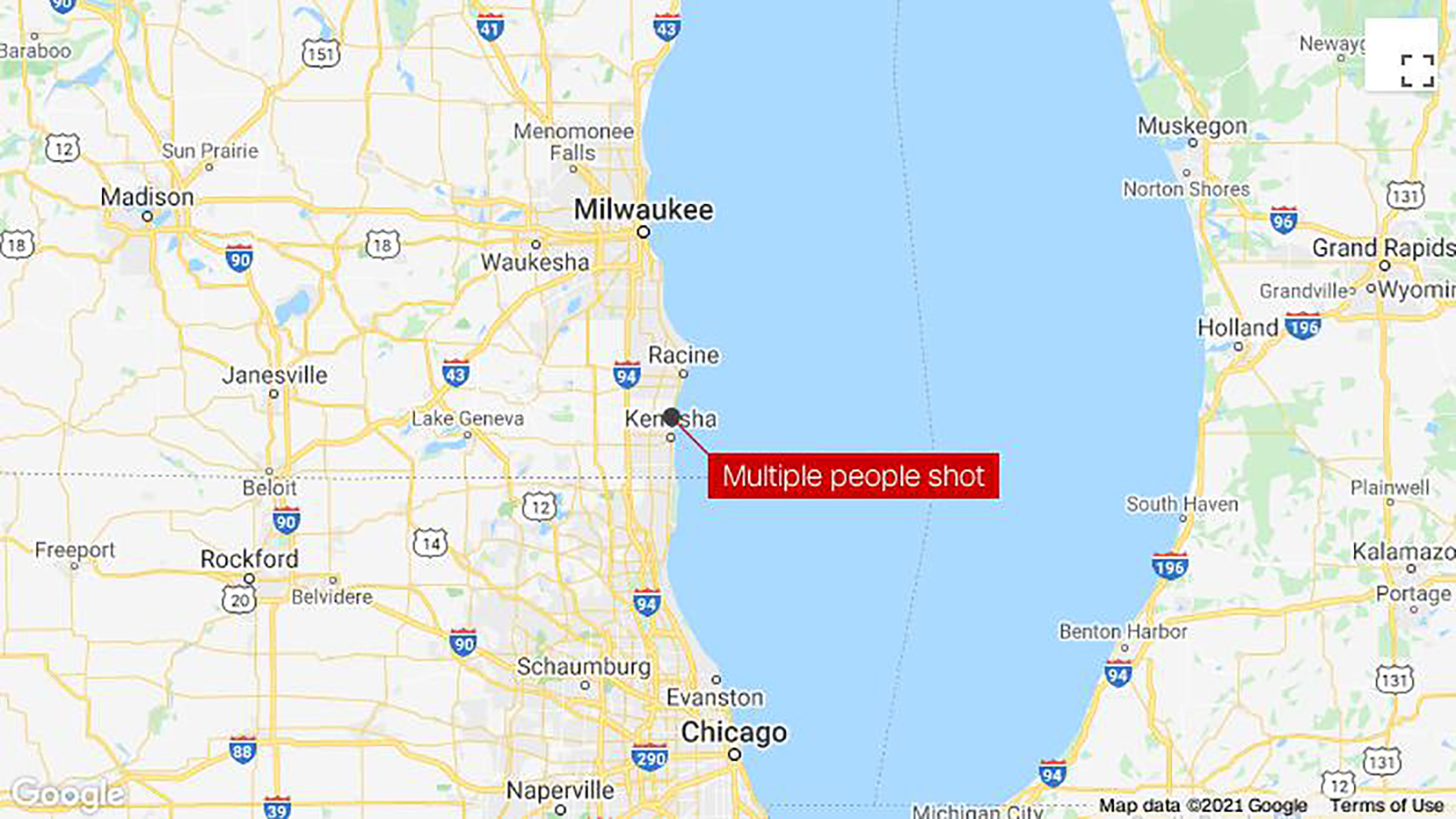 3 people were killed and 2 others injured in a shooting in Kenosha, Wisconsin, sheriff says