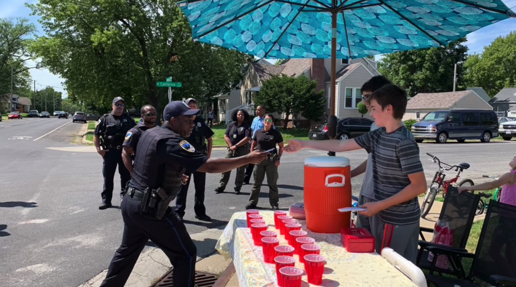 Two boys selling lemonade were robbed at gunpoint. Then their community stepped in to help