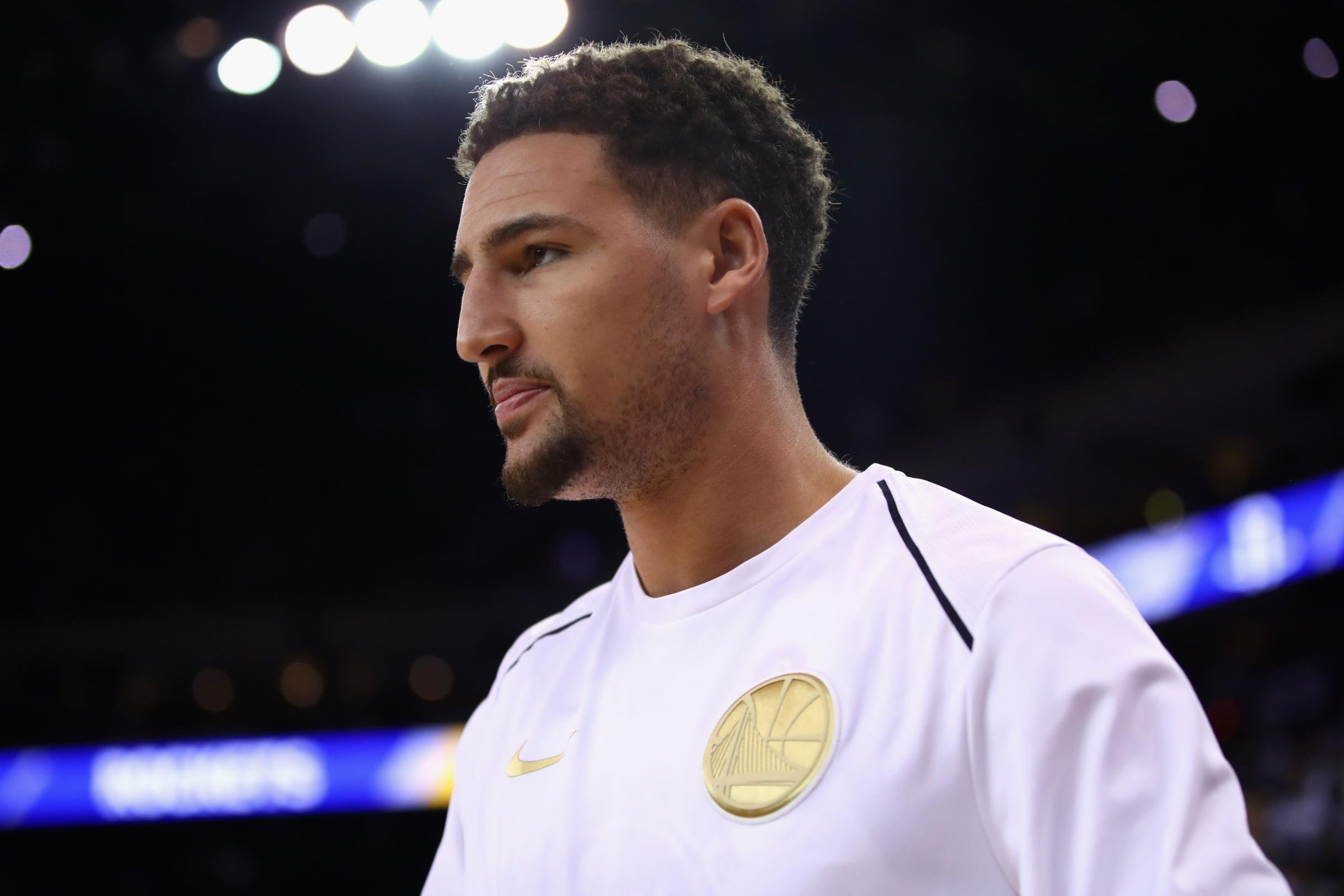 NBA star Klay Thompson, whose family is from the Bahamas, is raising money for hurricane relief in the islands