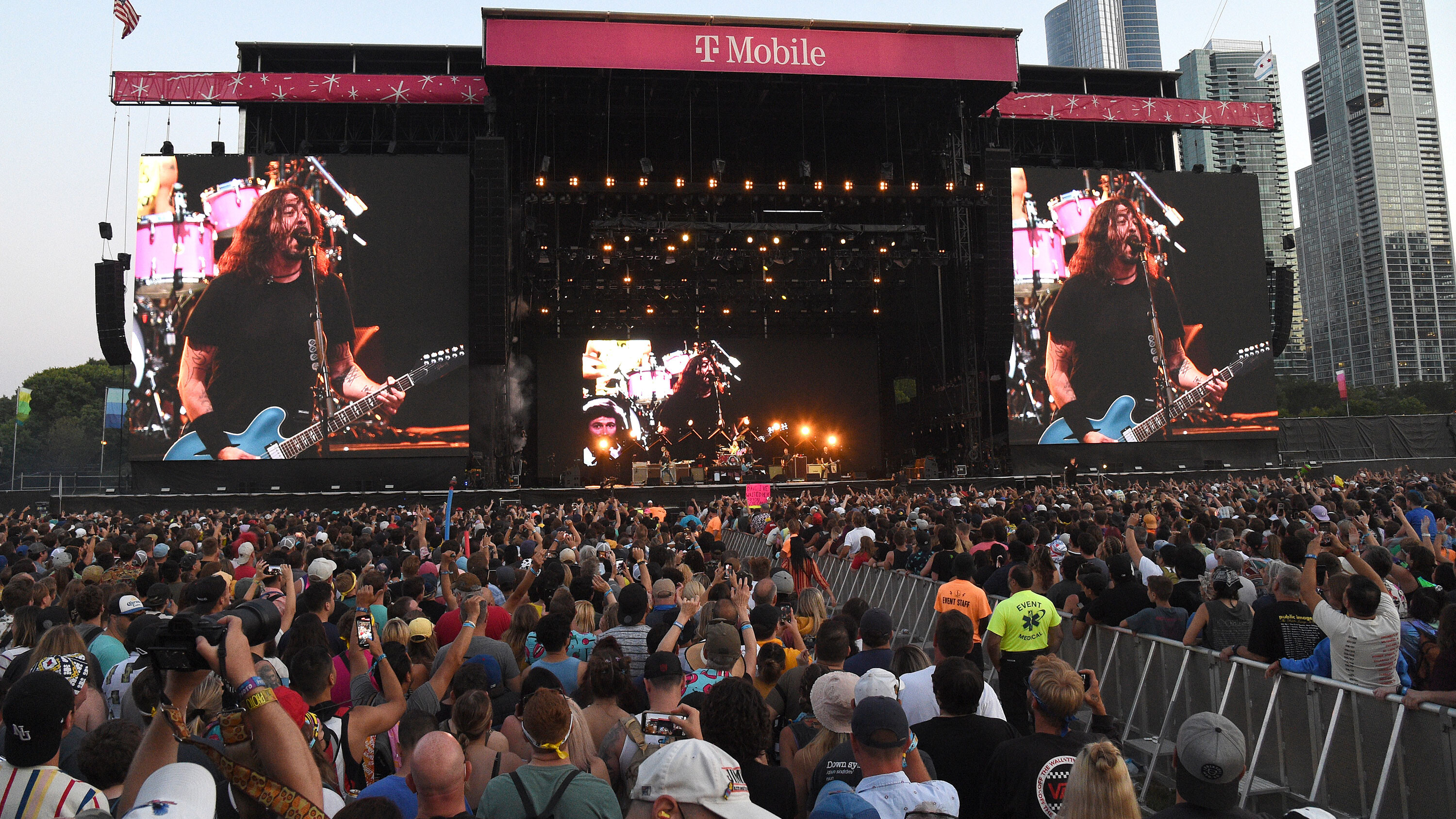 Lollapalooza mandated vaccines or a negative Covid test. Officials say there's no sign it was a superspreader event