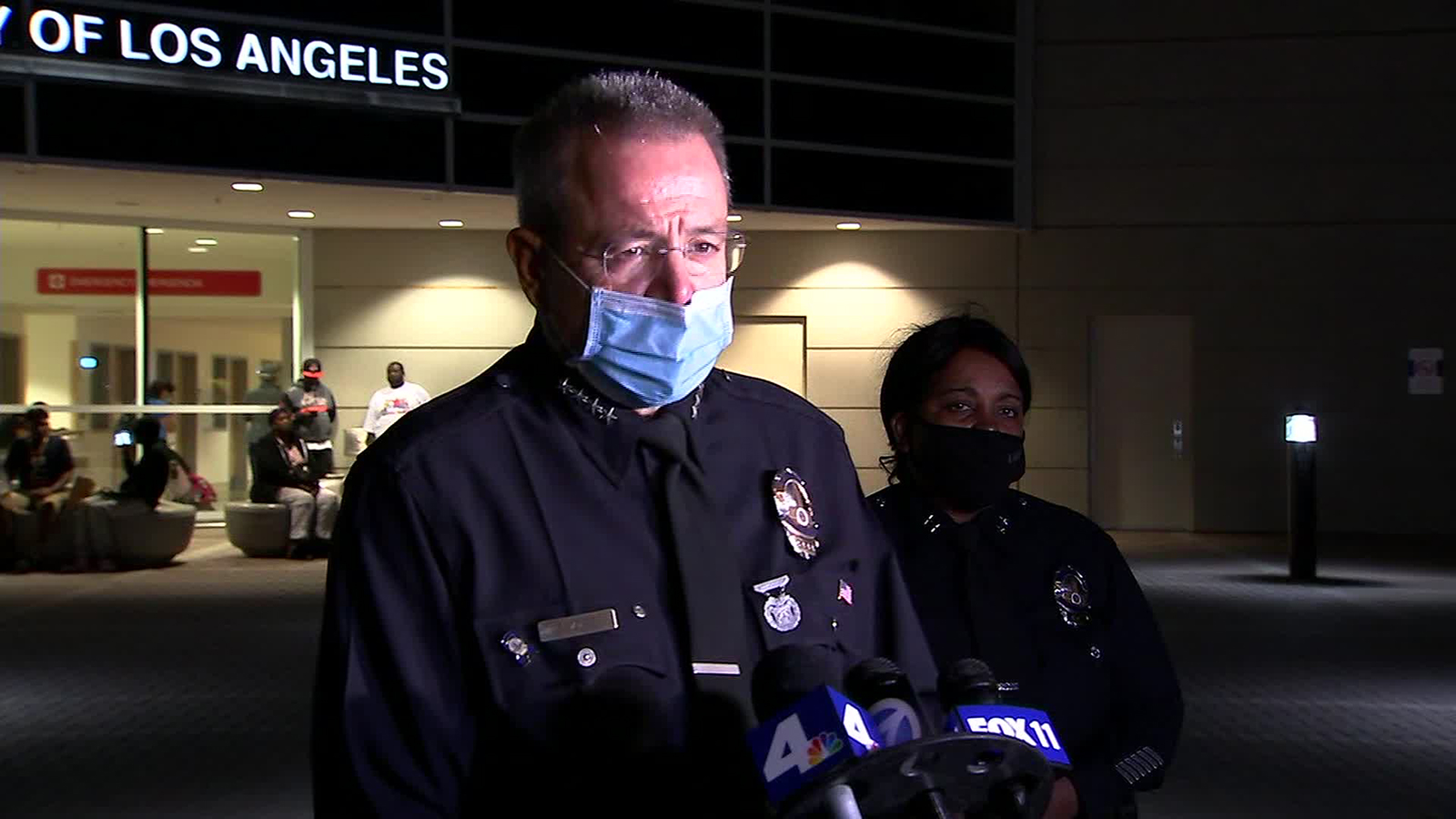 LAPD officer injured after shooting at Harbor Station