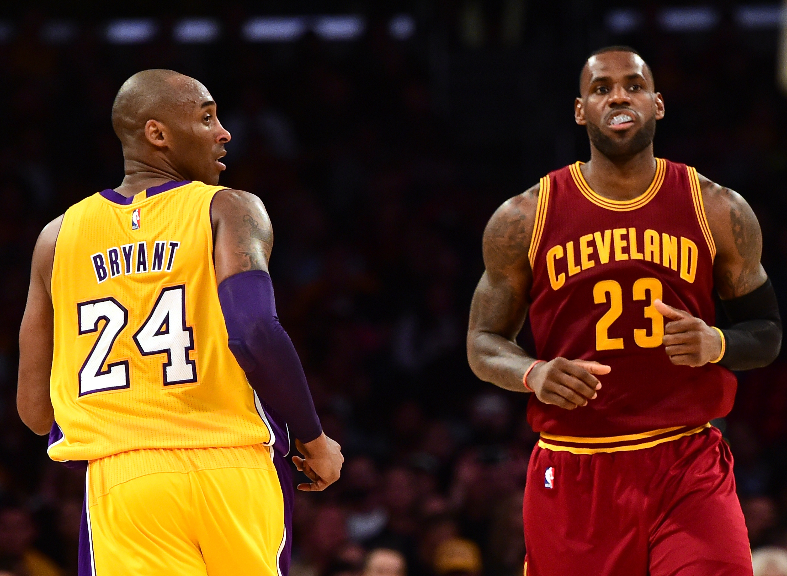 In his last social media posts, Kobe Bryant celebrated LeBron James for passing him on NBA's all-time scoring list