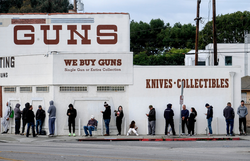 Image for Los Angeles Sheriff orders gun stores shut down due to coronavirus restrictions