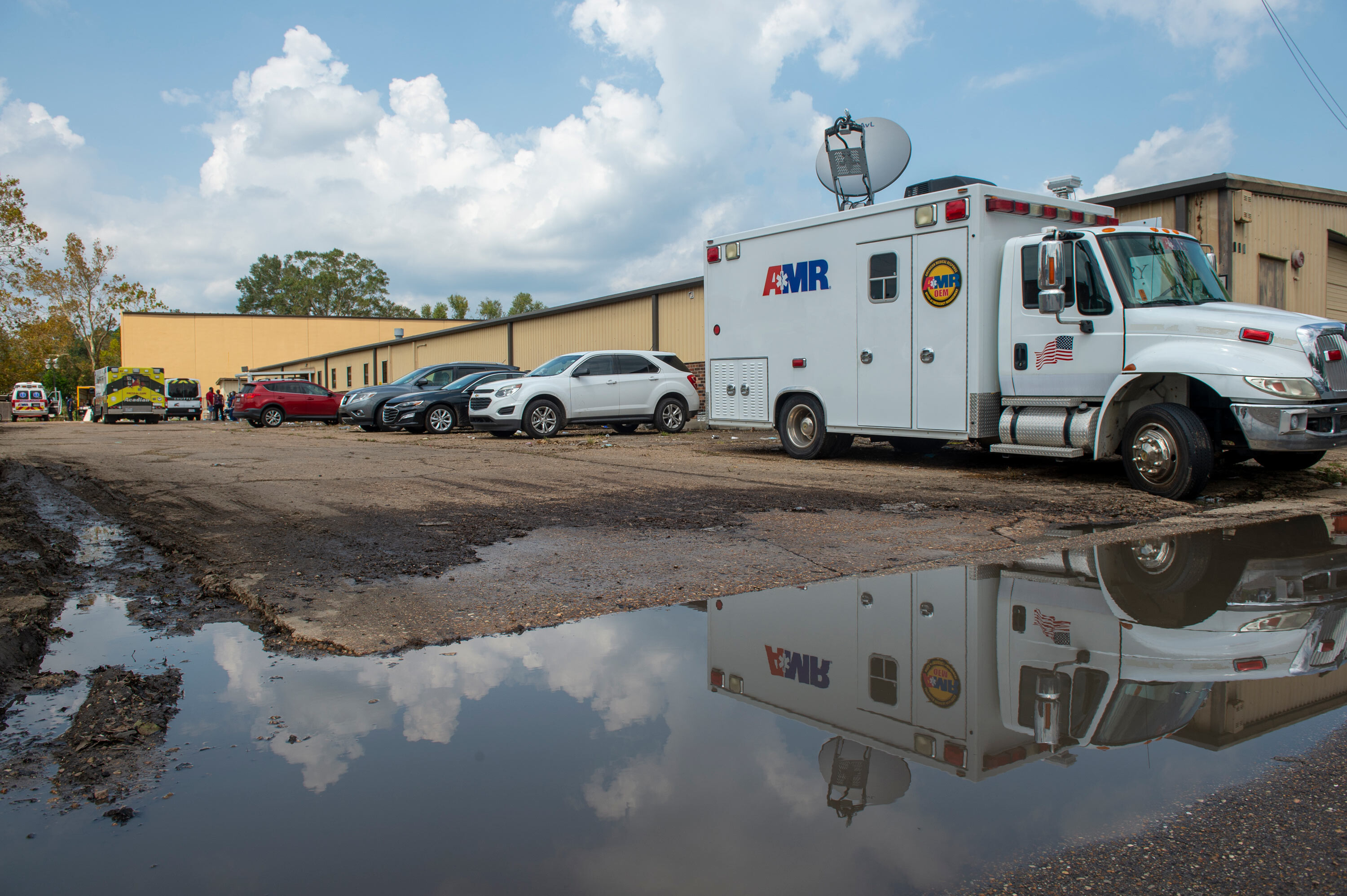 Louisiana Department of Health aware of plans for nursing homes to use warehouse for evacuation site