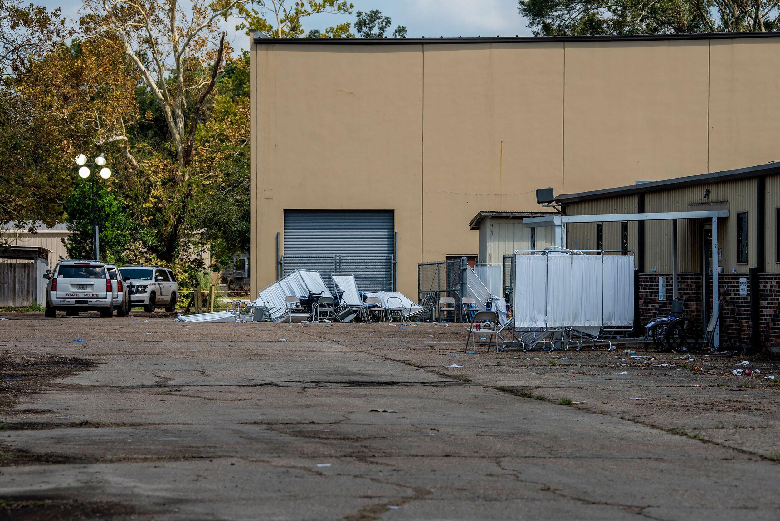 Louisiana revokes licenses of 7 nursing homes that evacuated patients to a warehouse ahead of Hurricane Ida