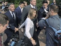 Lori Loughlin and husband plead not guilty to bribery charge in college admissions scam