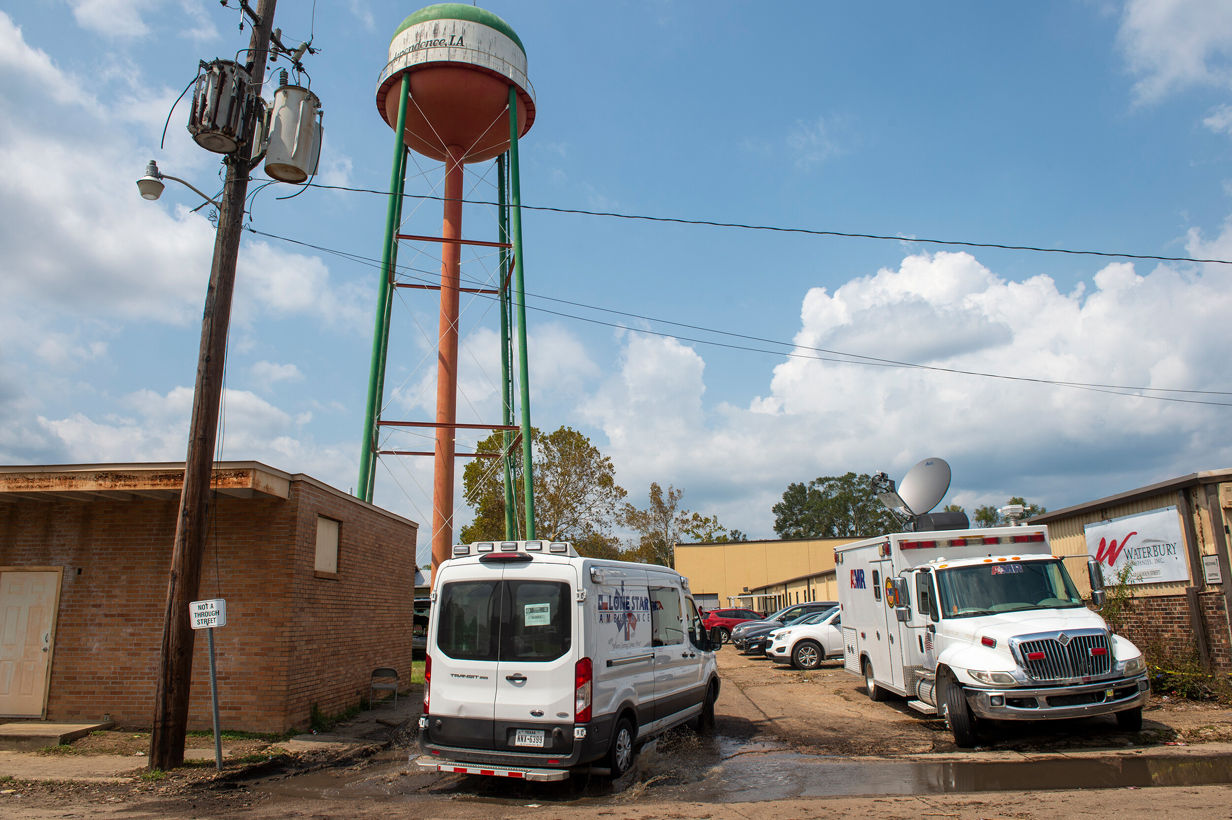 Nurses detail horrific conditions at warehouse where patients were evacuated ahead of Hurricane Ida