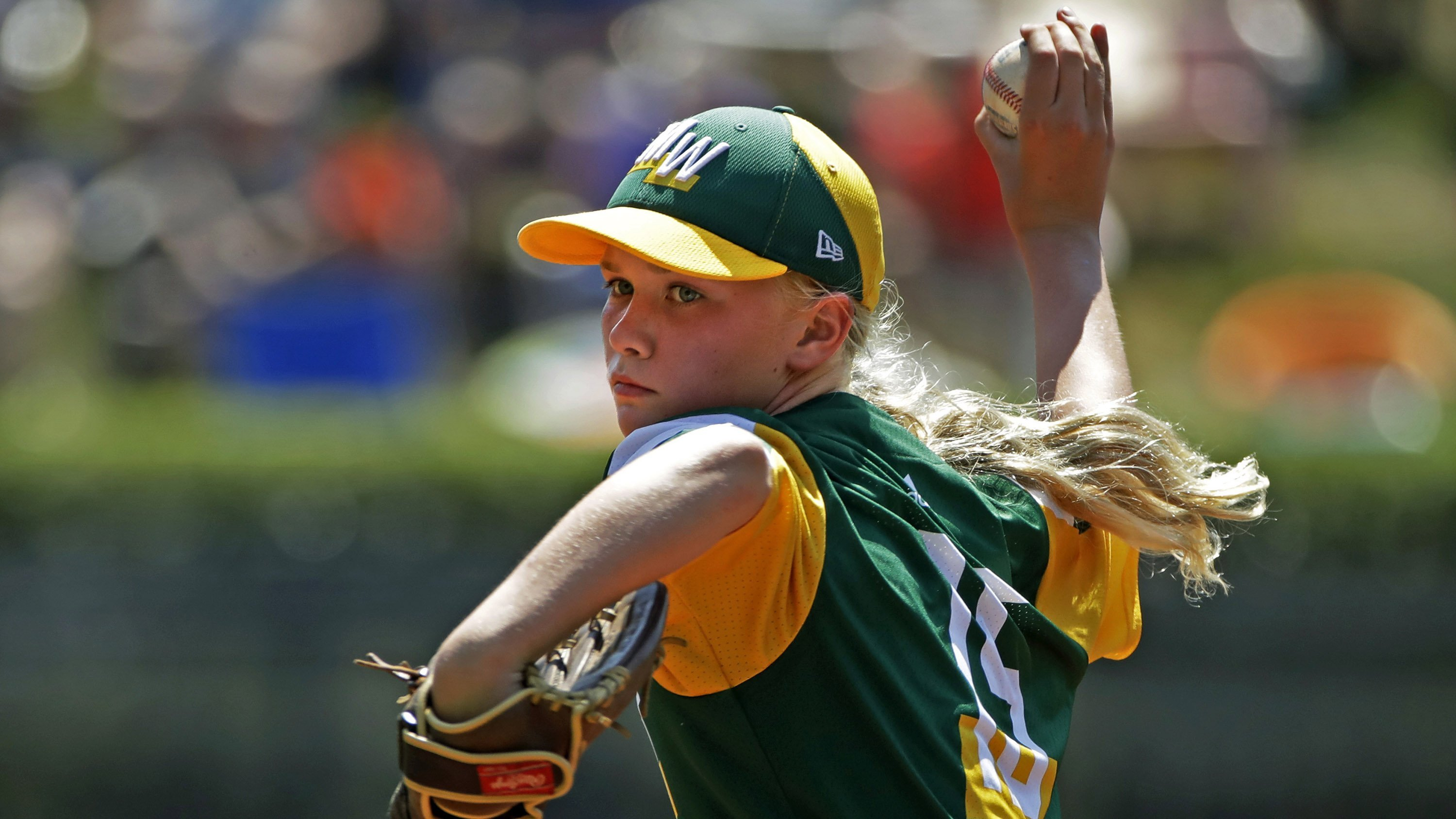 She's been a phenom at the Little League World Series