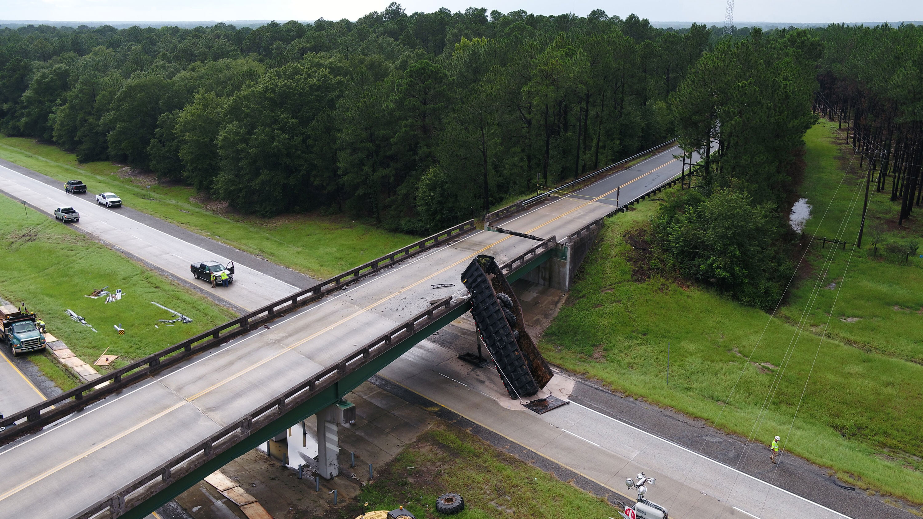 Georgia interstate will reopen ahead of schedule after being closed because of bridge accident