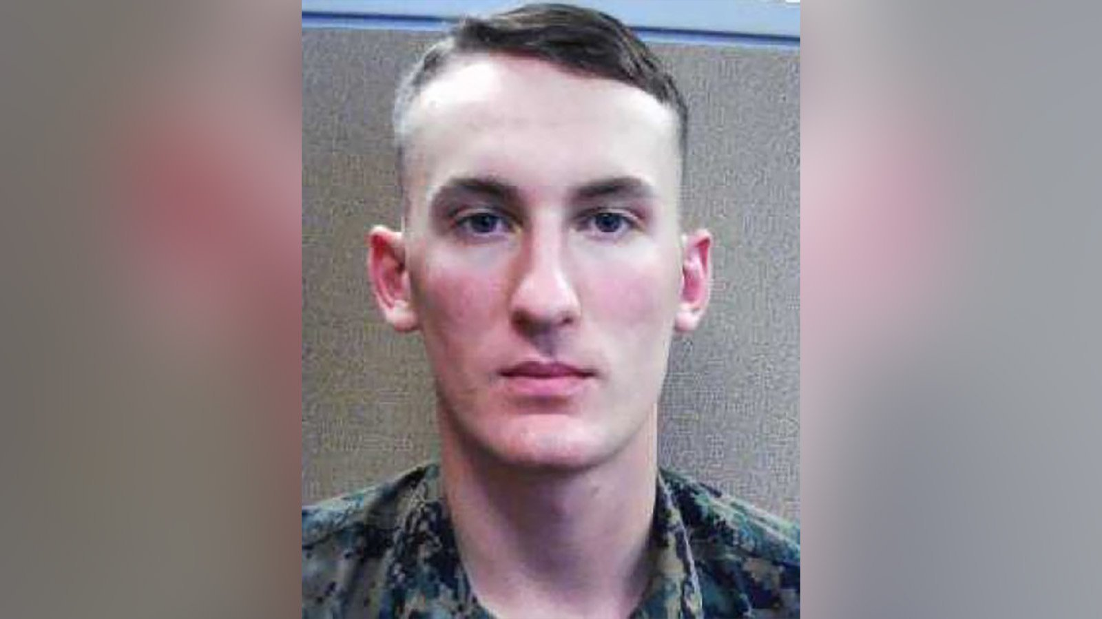 A Marine deserter is wanted in the murder of his mother's boyfriend in Virginia, police say