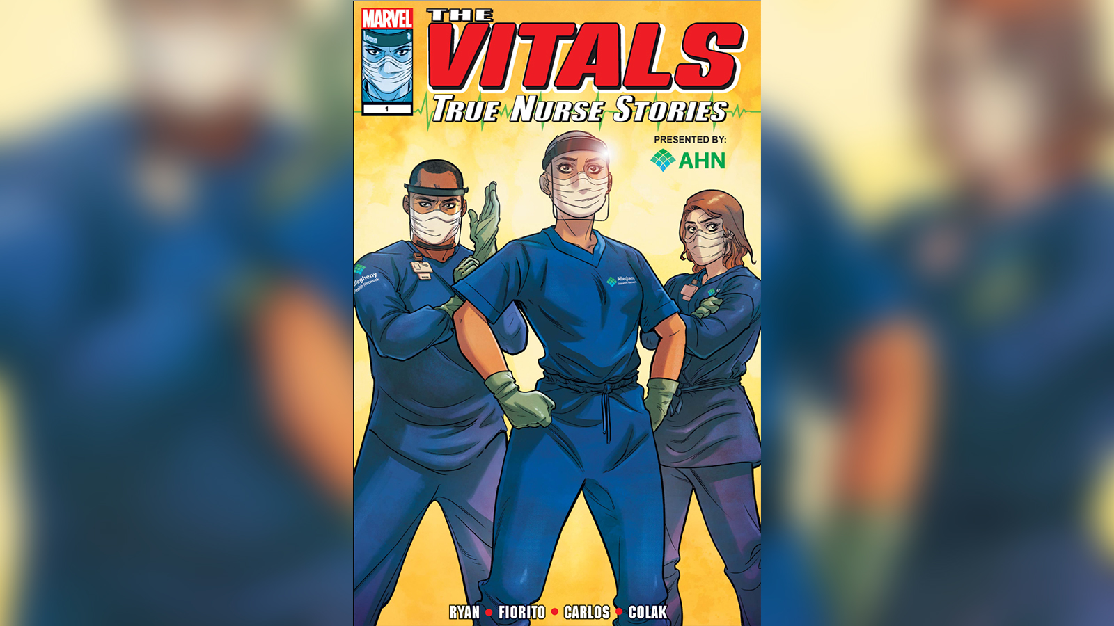 New comic book celebrates nurses as health care superheroes