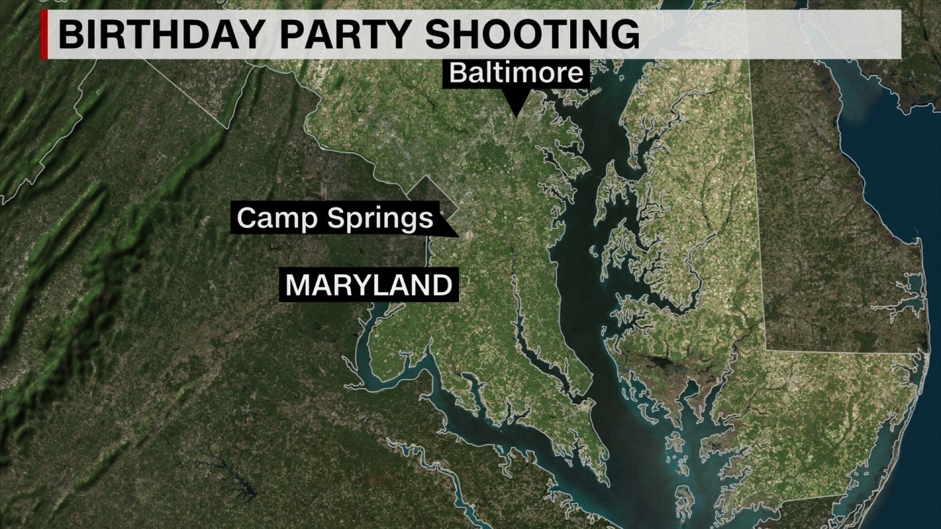 7 people were shot at 2-year-old's birthday party in Maryland, police say