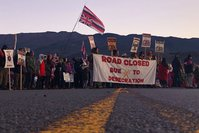 Protesters arrested at Hawaii's Mauna Kea for blocking construction of the Thirty-Meter Telescope
