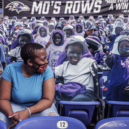 Image for This Ravens superfan died at 14. His face will fill the seats on Sunday