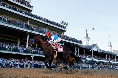 Image for Kentucky Derby Winner Medina Spirit's Failed Drug Test Confirmed