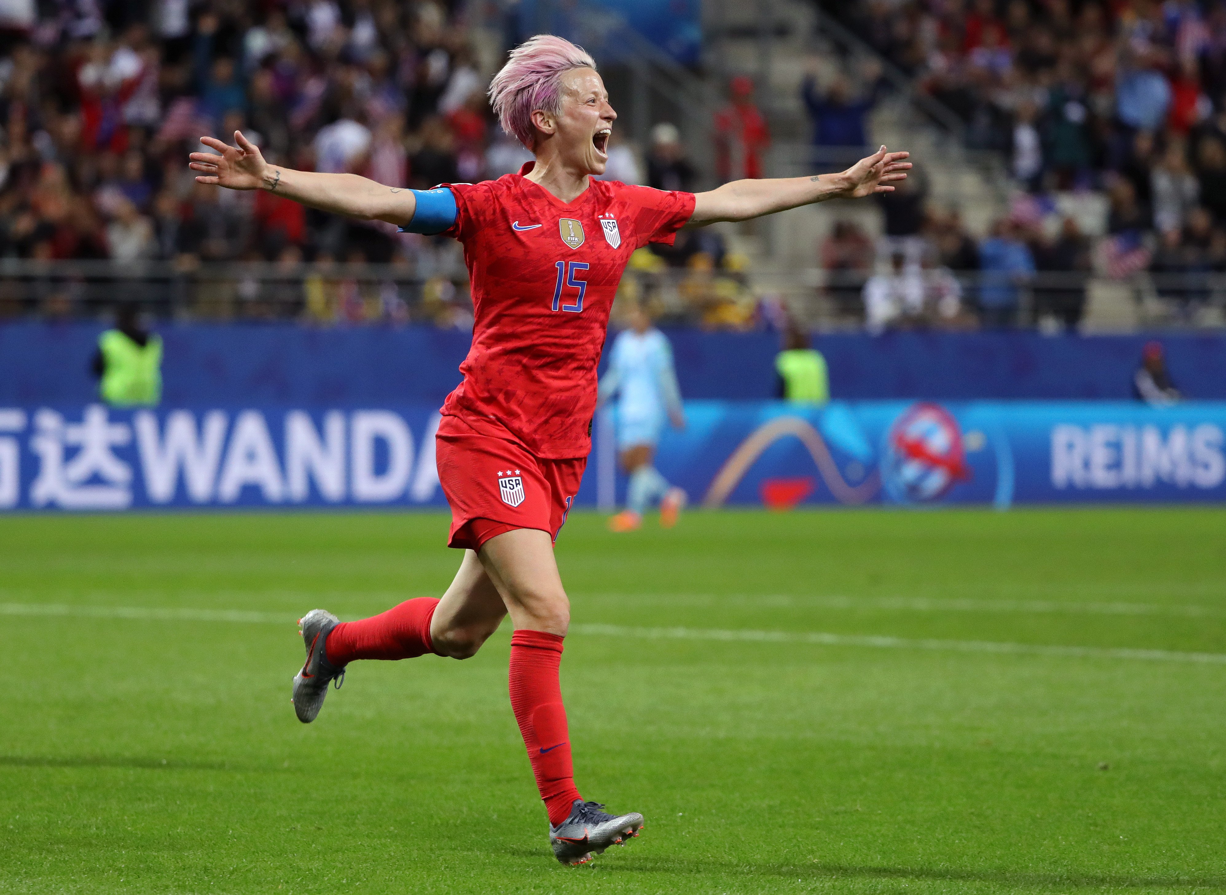 Soccer legend Megan Rapinoe has been named Sports Illustrated's Sportsperson of the Year
