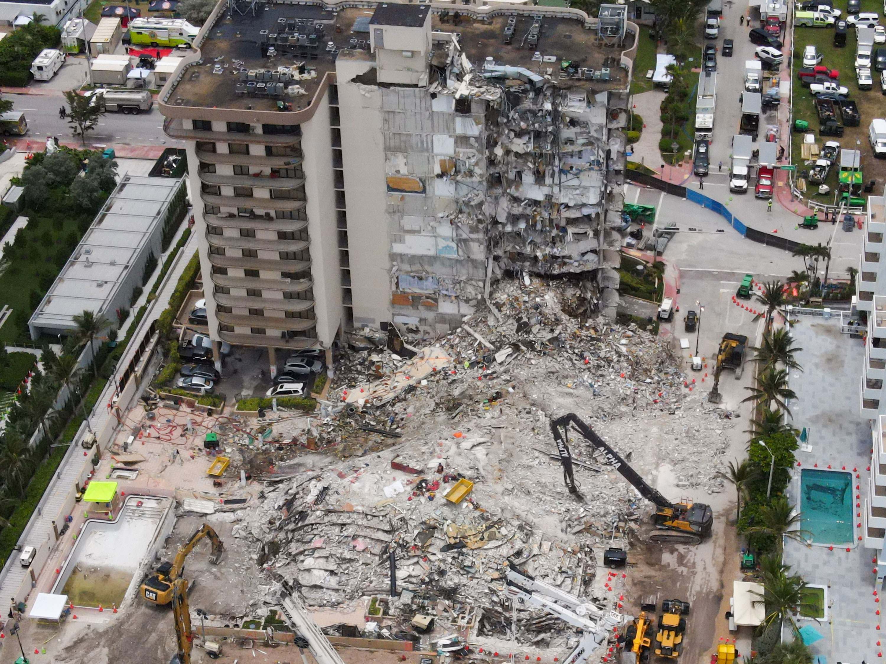 Mayor authorizes demolition of remaining units at Surfside condo collapse site as death toll grows to 22