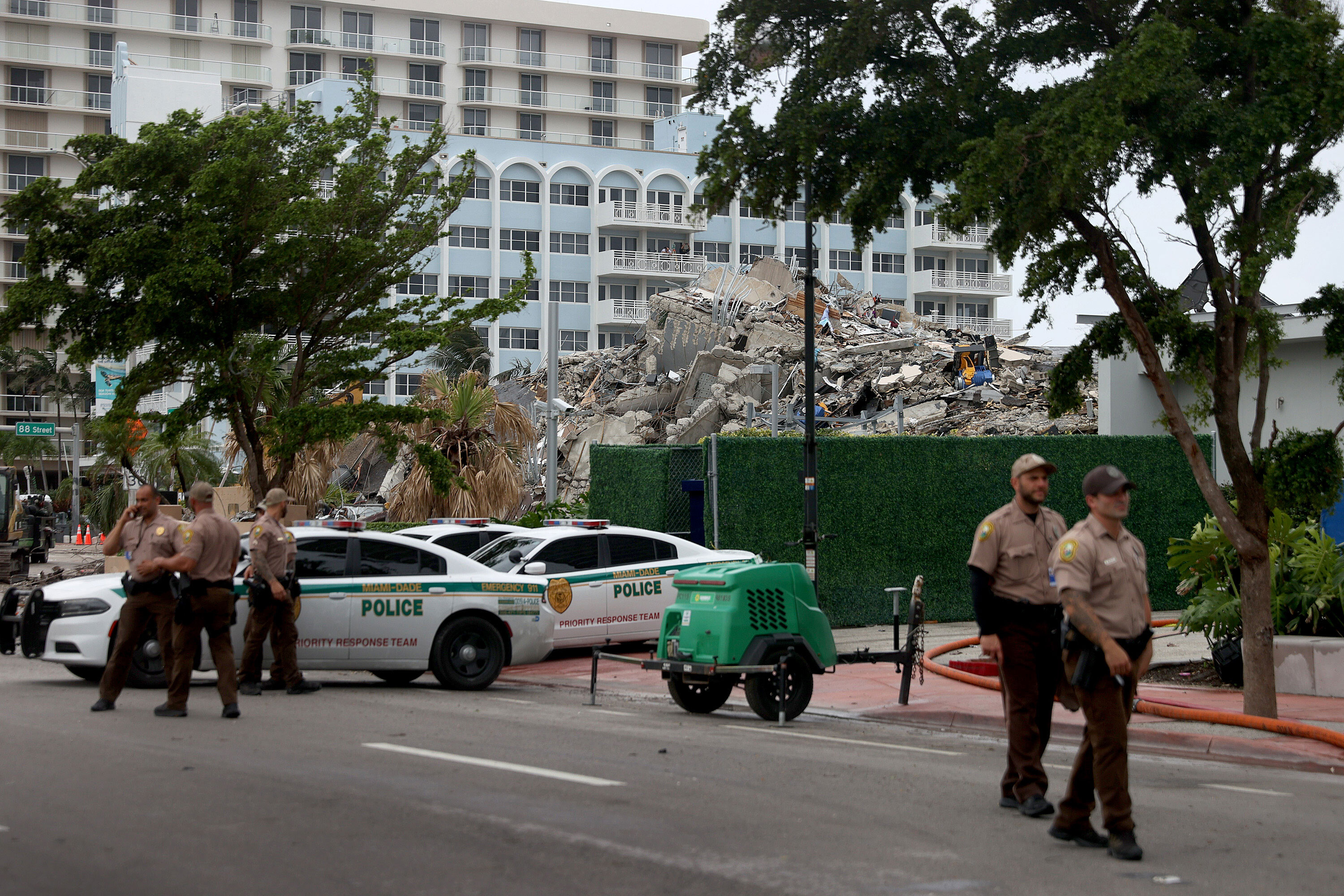 Engineer hired by town of Surfside says his access to the collapse site has been curtailed