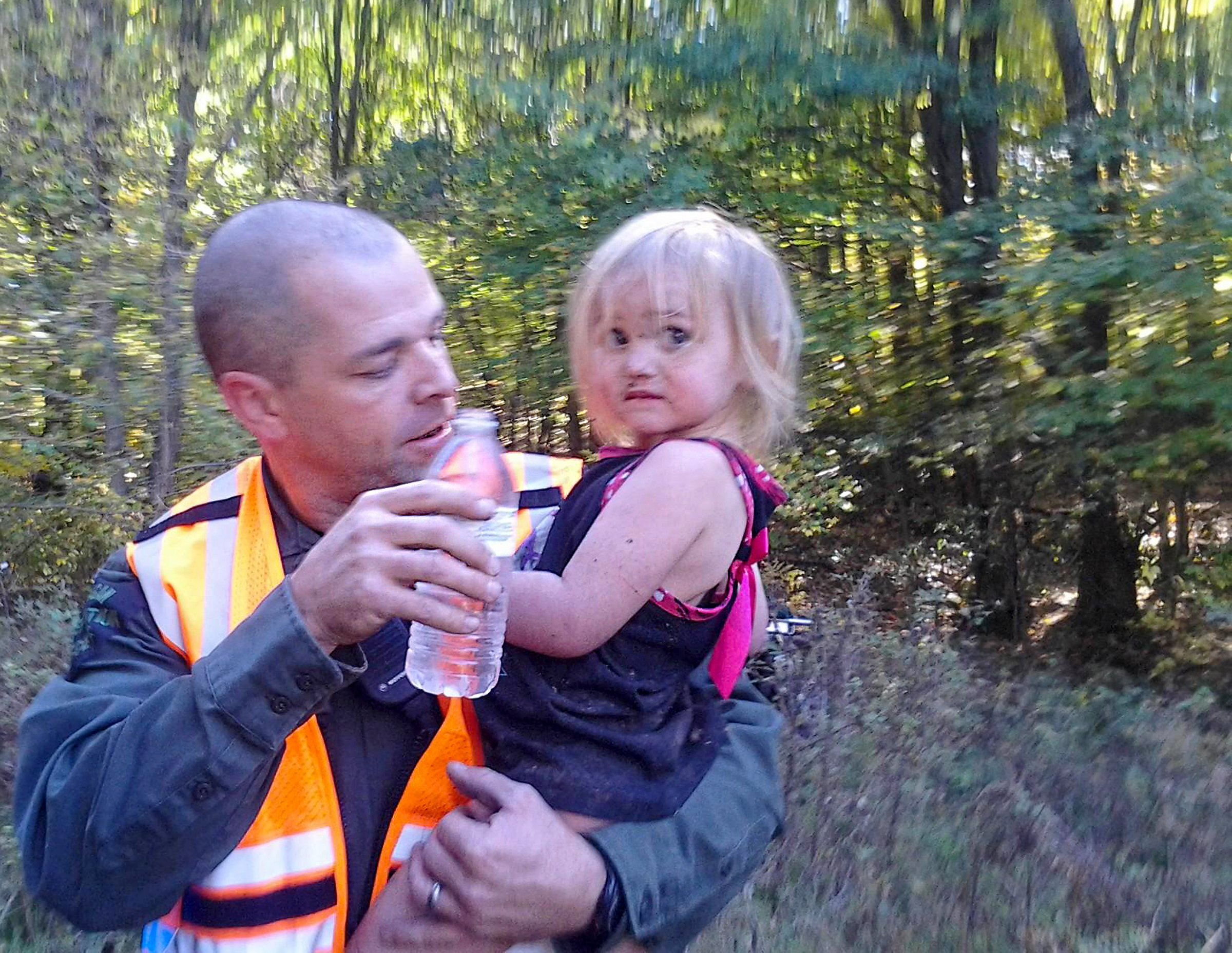 This officer has saved five lives, including a missing toddler, in rural Michigan