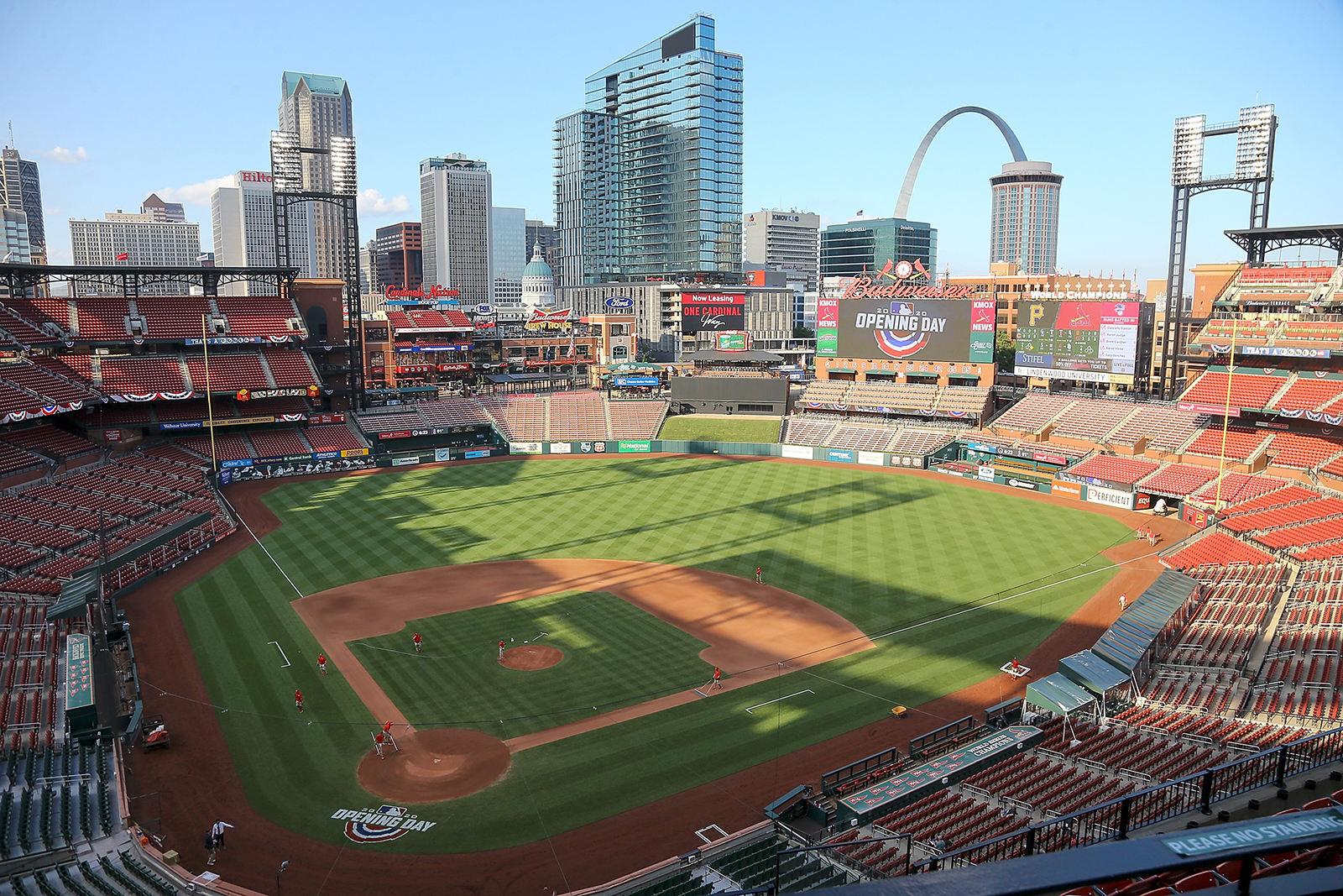 13 St. Louis Cardinals players and staff tested positive for Covid-19, MLB says