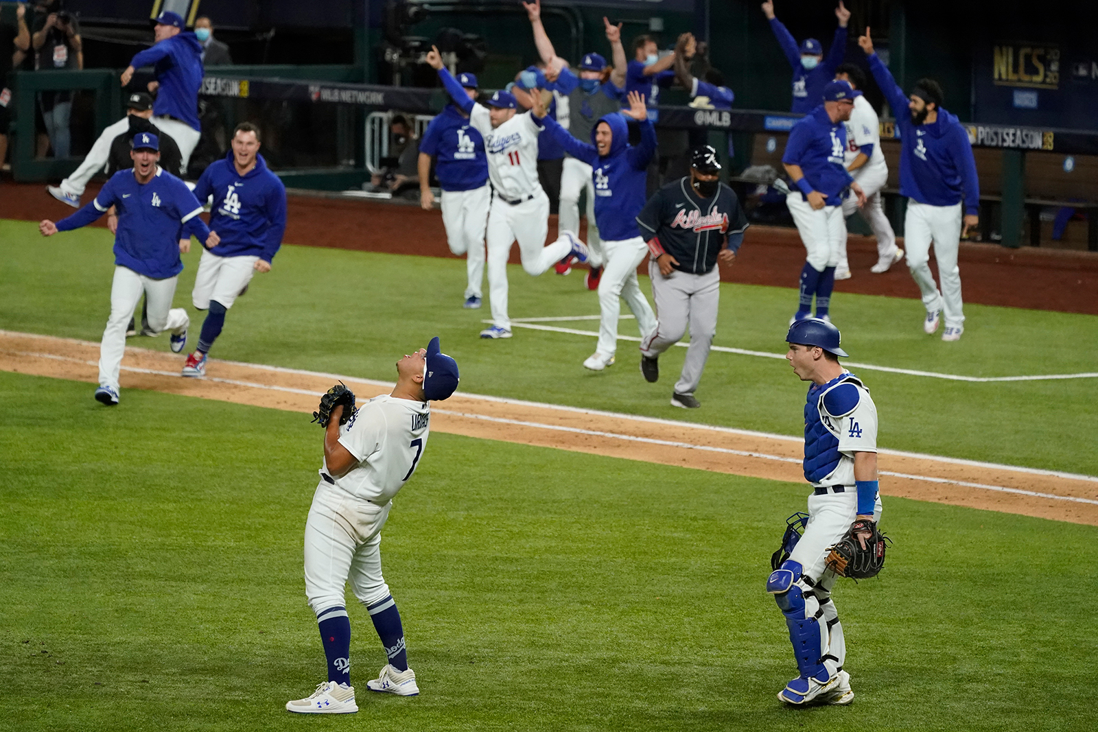 Los Angeles Dodgers are headed to the World Series to face off with the Tampa Bay Rays