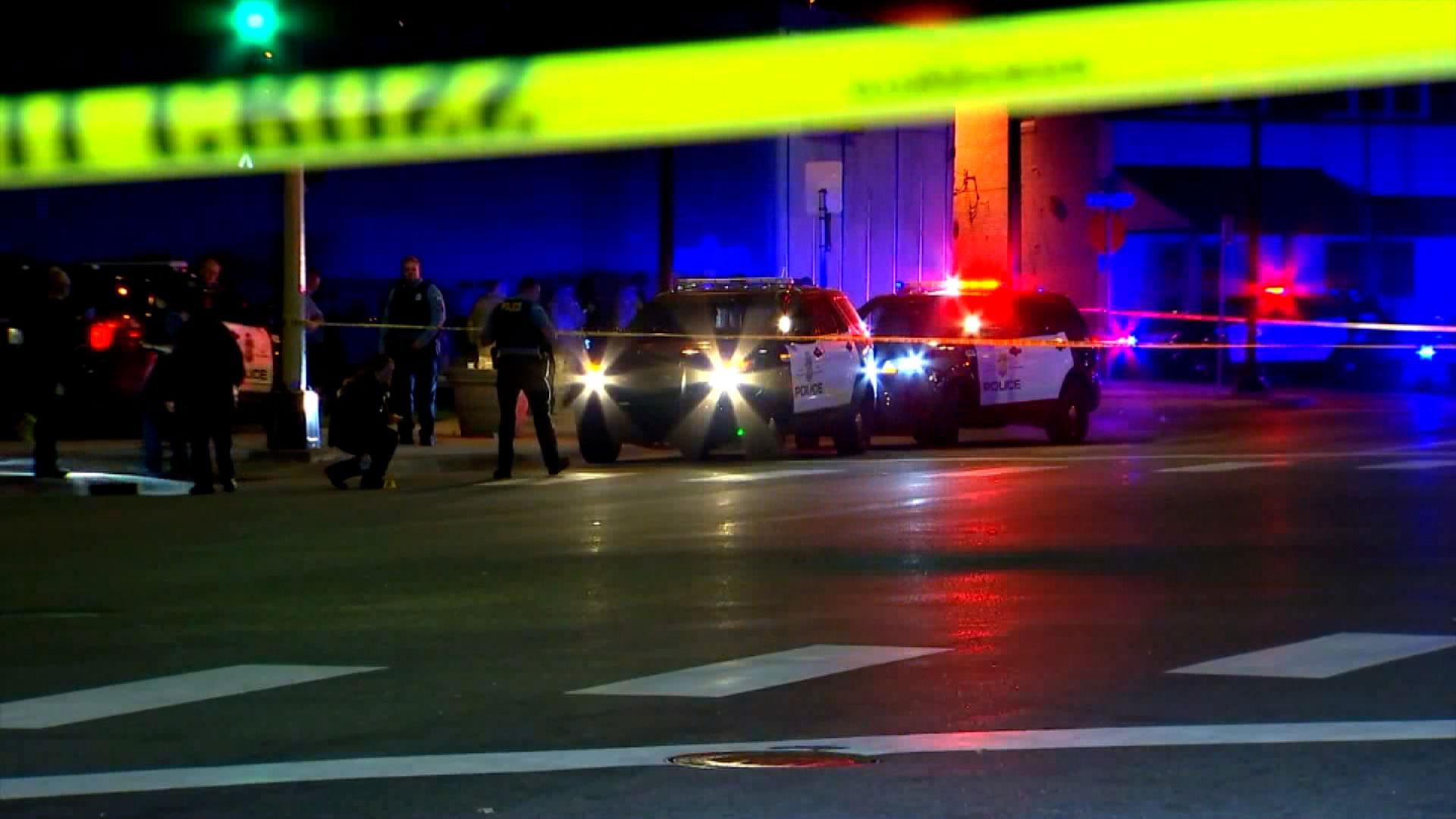 A Minnesota National Guard and police team were shot at in a drive-by shooting, official says