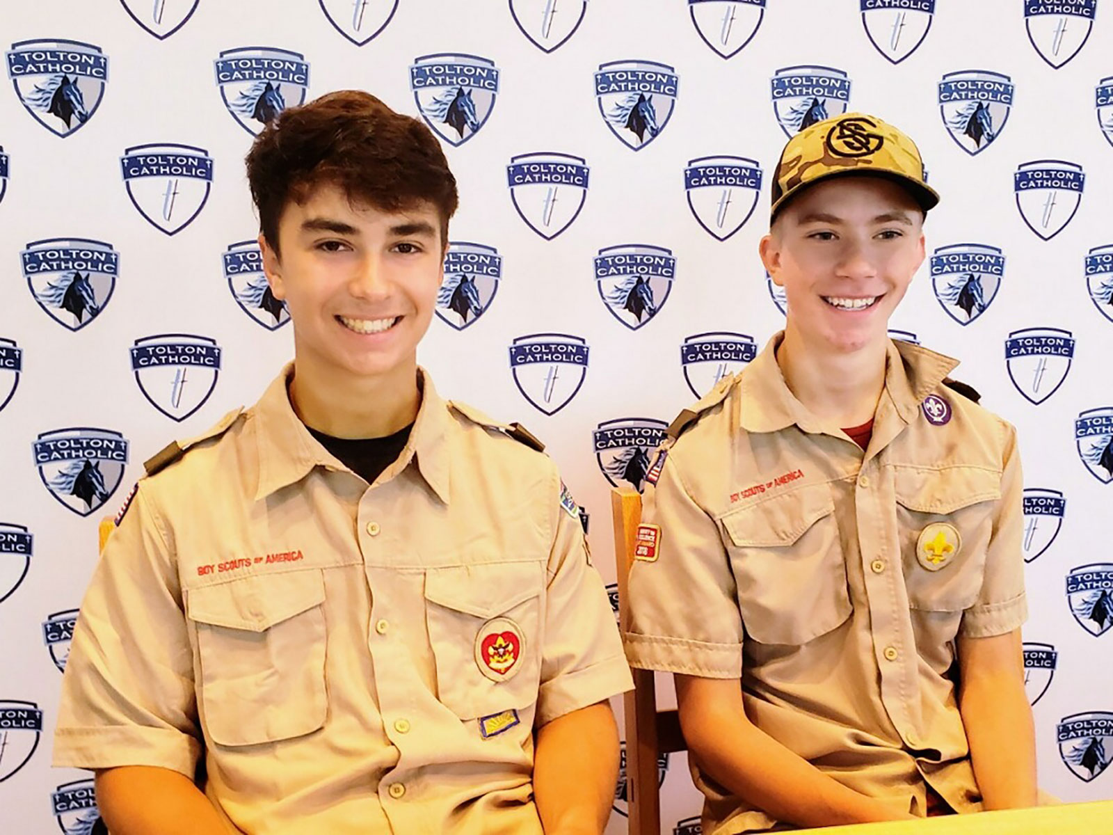 Two Boy Scouts saved a drowning woman's life after pulling her out of Missouri floodwaters